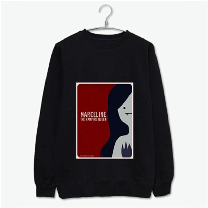Timecosplay Adventure Time Marceline the Vampire Queen Long Sleeve Tee Shirts
