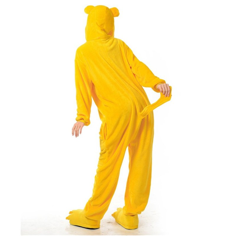 TimeCosplay Adventure Time with Finn and Jake Cosplay Onesie Pajamas Halloween Animal Kigurumi