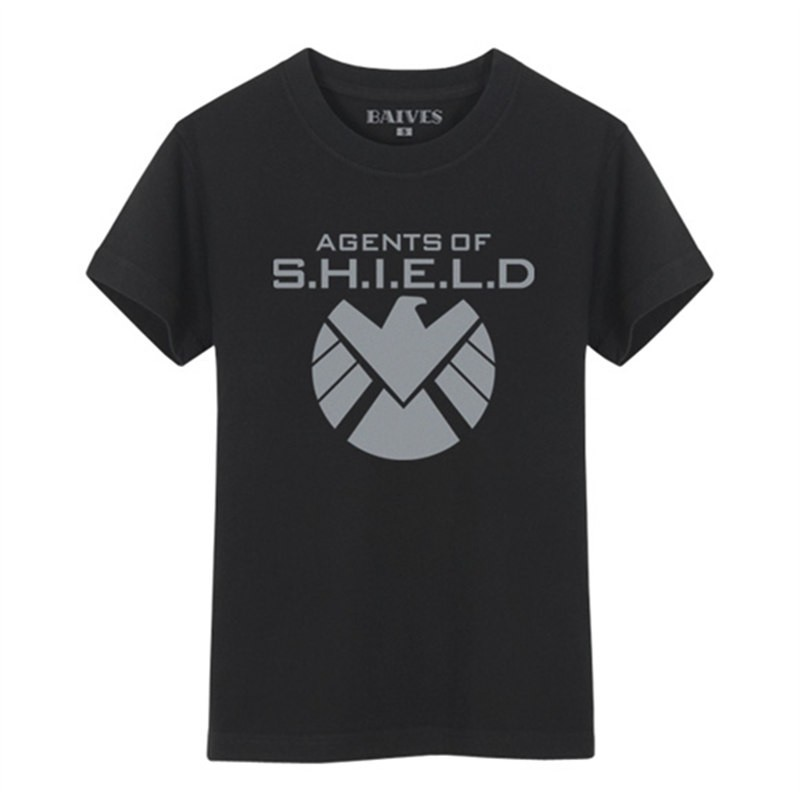 Timecosplay  Agents of S.H.I.E.L.D. Logo Cosplay Tee Shirt