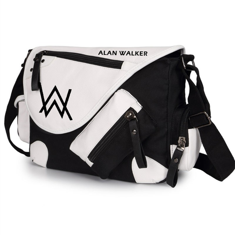 Timecosplay Alan Walker Faded Messenger Bag Backpack Schoolbag