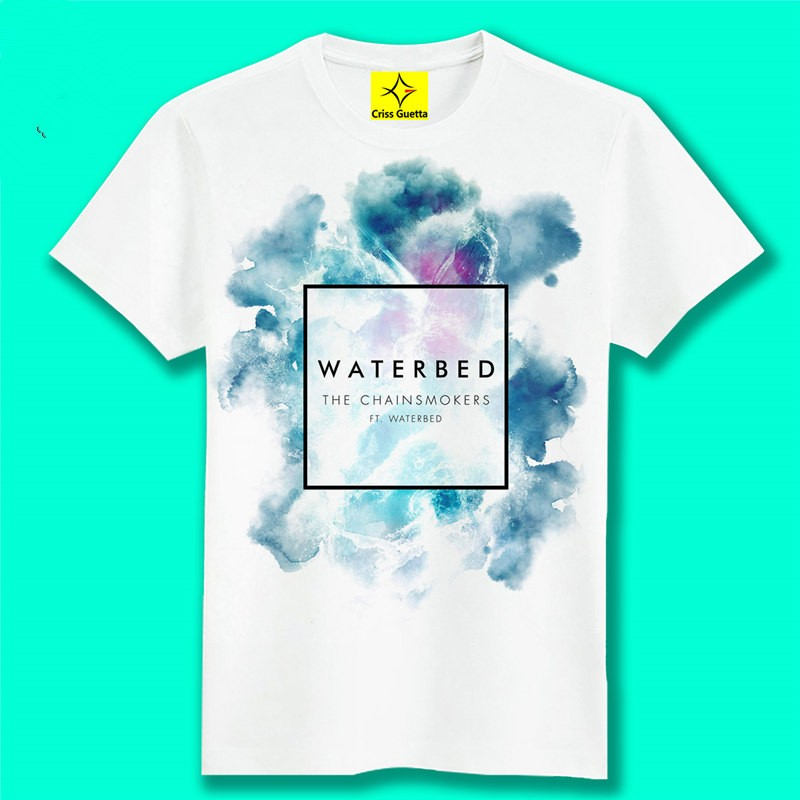 Timecosplay Alan Walker Faded WATERBED Men Short Sleeve Tee Shirts
