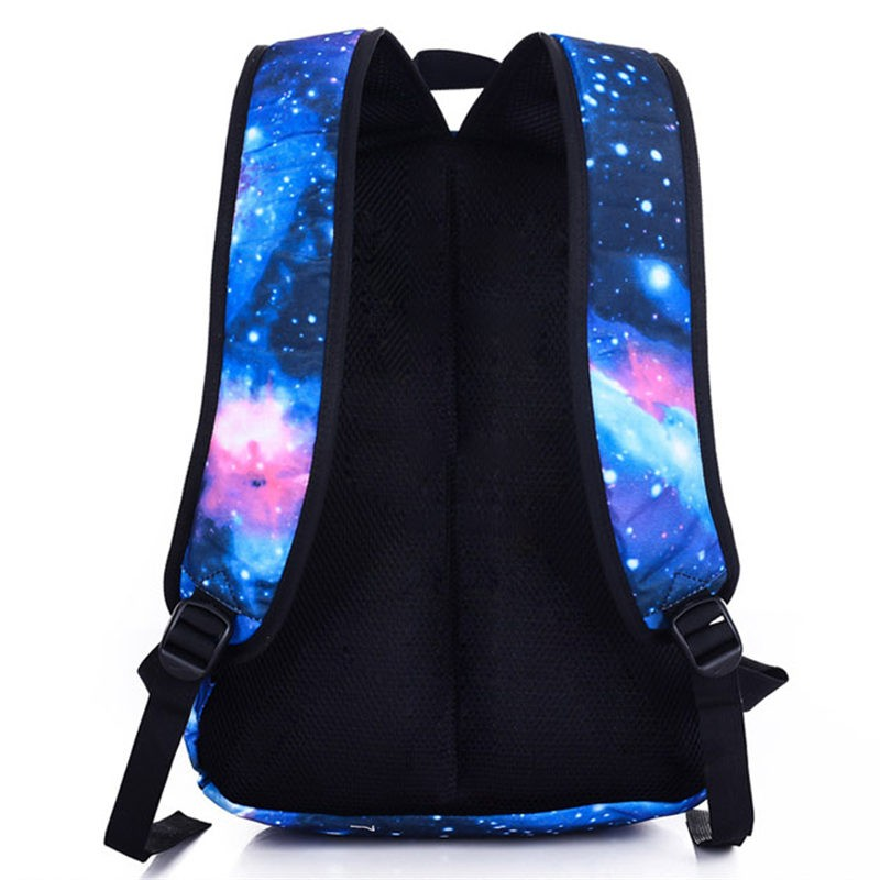 Timecosplay Alan walker Noctilucent Luminious backpack Schoolbag booksbag