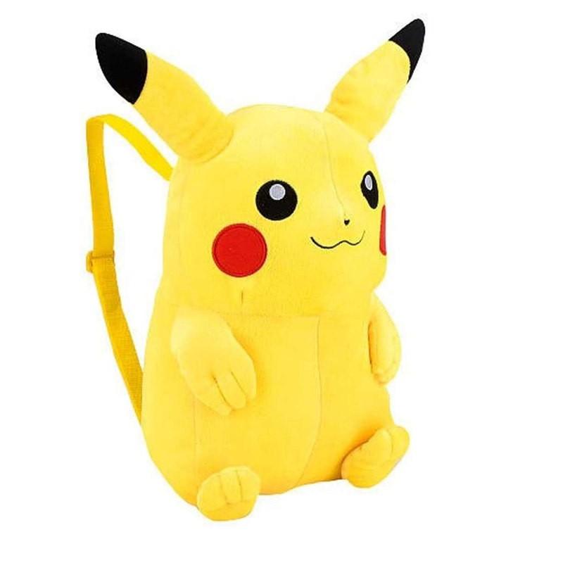 Timecosplay Anime Pokemon Pikachu Cosplay Bag Plush Backpack