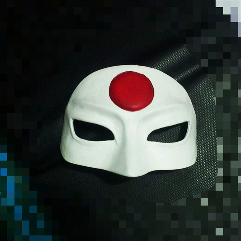 Timecosplay DC 2016 Movie Suicide Squad Katana Cosplay Mask Halloween