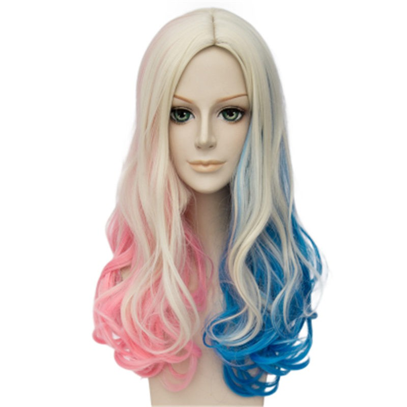 Timecosplay DC Comics Suicide Squad Harley Quinn Cosplay Wigs Daily