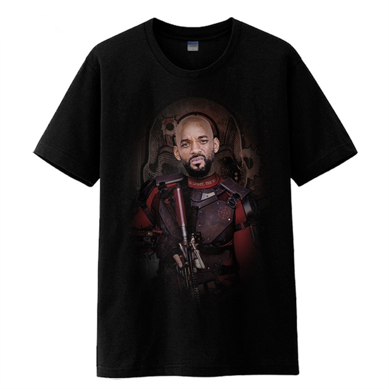 Timecosplay DC Suicide Squad Batman Deadshot Tee Shirts
