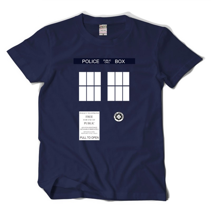 Timecosplay Doctor Who Tardis Icon Tee Shirt