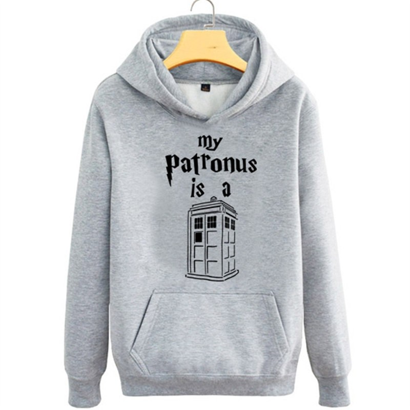 Timecosplay Doctor Who Tardis Police Box Pullover Hoodie