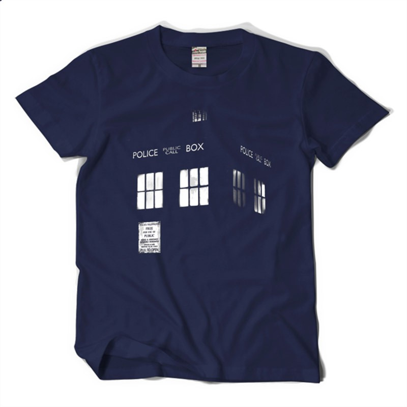 Timecosplay Doctor Who Tardis Tee Shirt