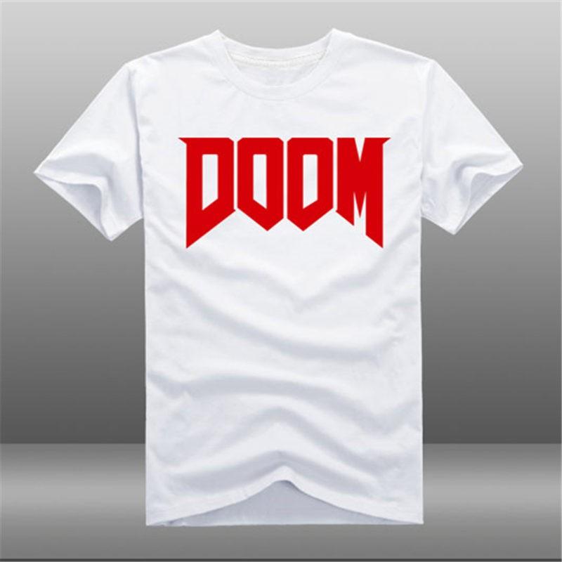 Timecosplay Doom4  Icon Short  Sleeve Cool TEE Shirts