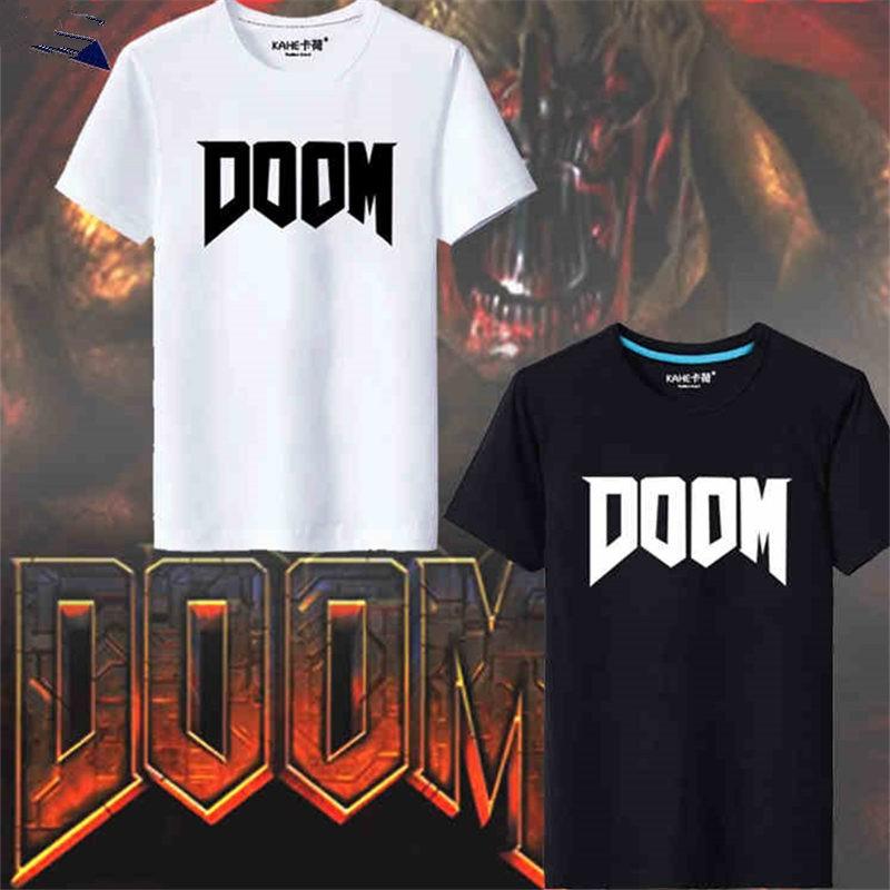 Timecosplay Doom iImage Short Sleeve T-Shirts