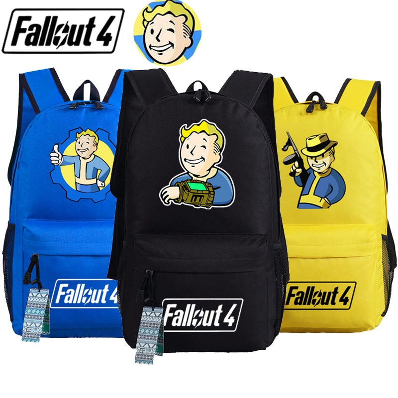 Timecosplay Fallout 4 Pipboy School bag Backpack