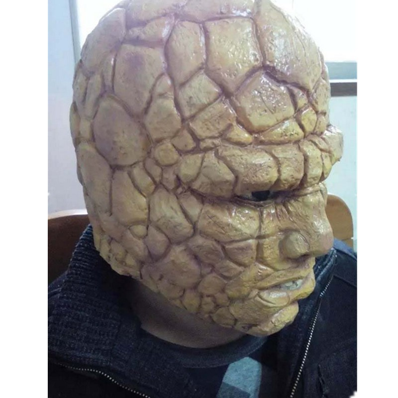 "Timecosplay Fantastic Four Benjamin Jacob ""Ben"" Grimm Thing Face Mask Props for Halloween Cosplay"