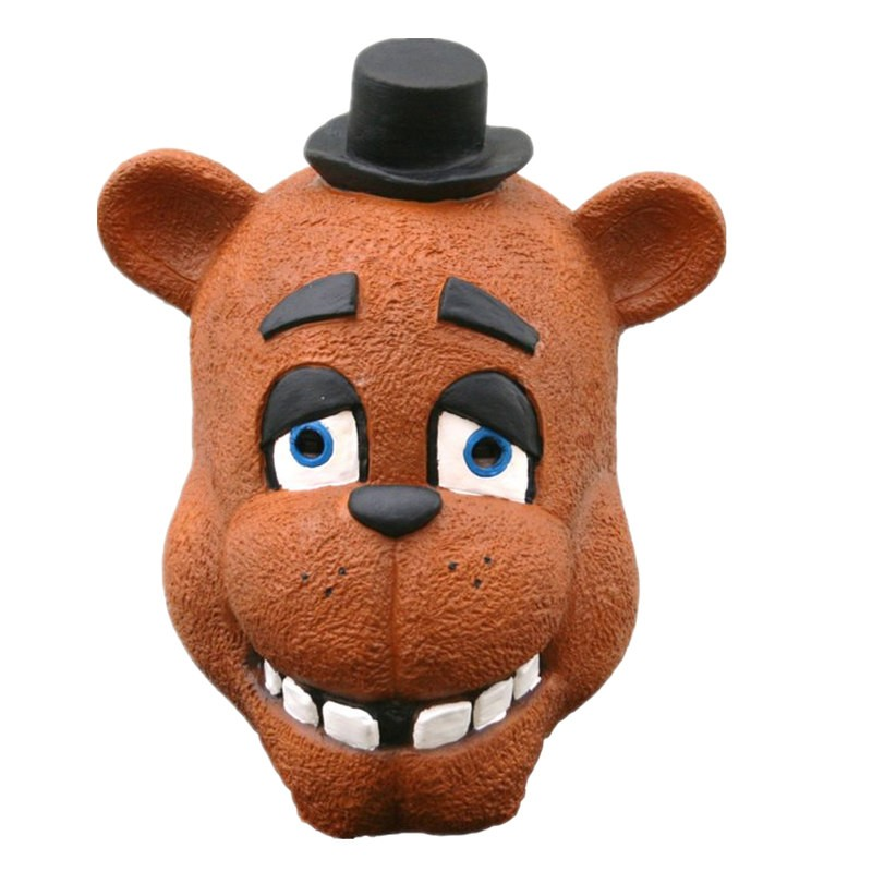 TimeCosplay Five Nights at Freddy's Freddy Fazbear Foxy Cosplay Latex Mask Halloween