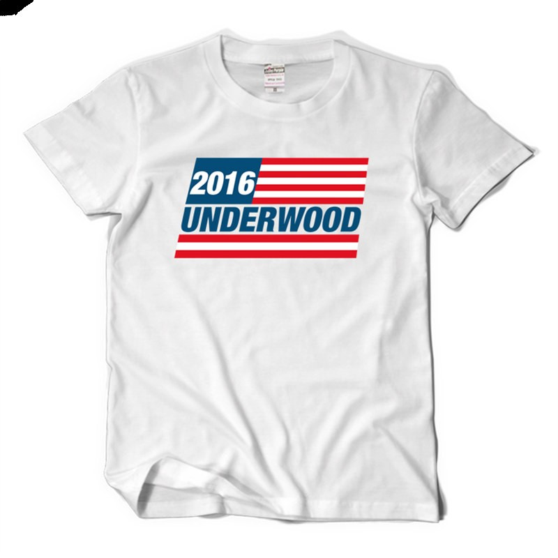 Timecosplay House Of Cards 2016 Underwood Icon Men Tee Shirt