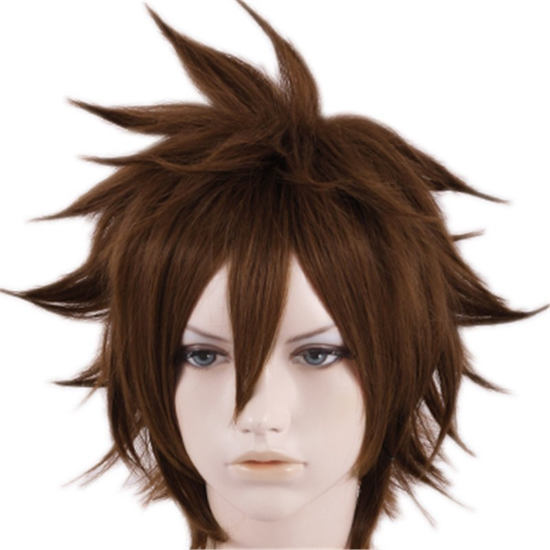 Timecosplay Kingdom Hearts Sora Cosplay Wigs