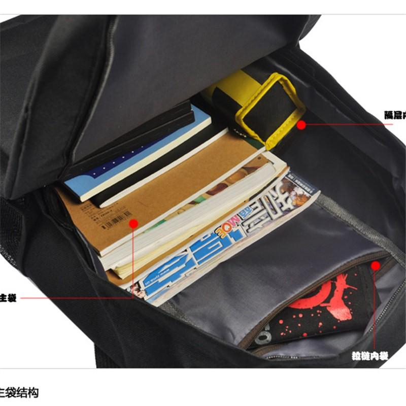 Timecosplay Metal Gear Solid V FOX Logo Bag Schoolbag Backpack