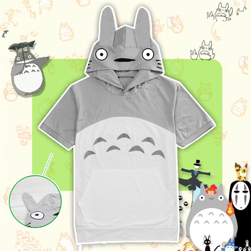 TimeCosplay Miyazaki Hayao Tonari no Totoro Cosplay Pullover Hoodie