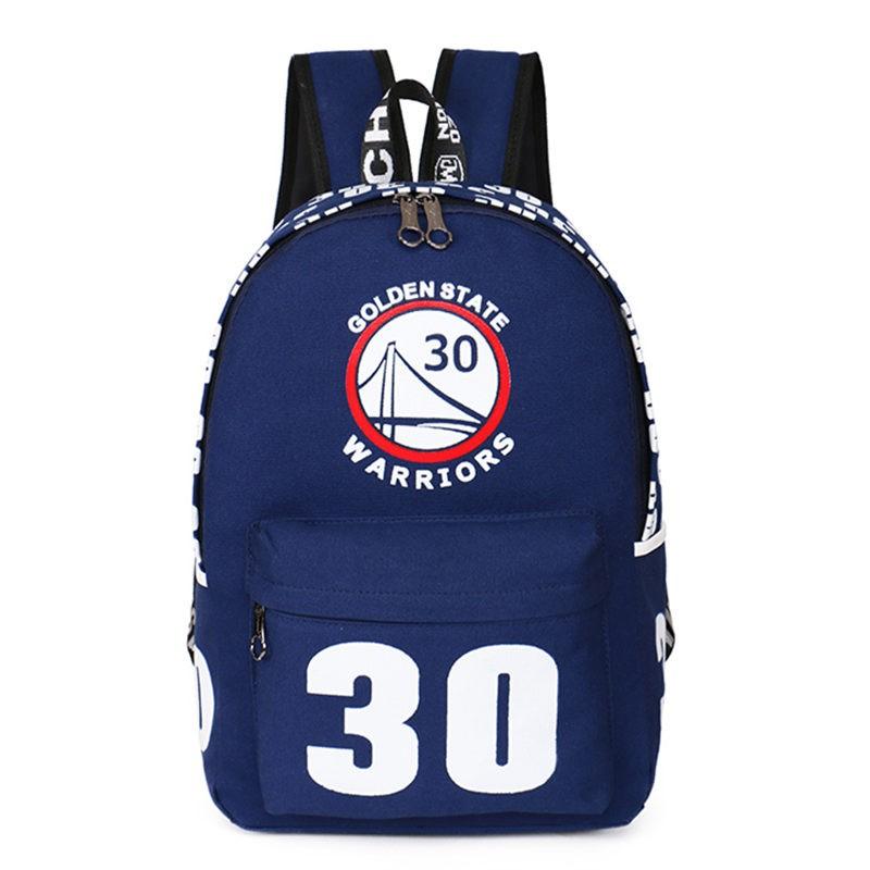 Warriors Stephen Curry 30 Shoulders Bag Schoolbag