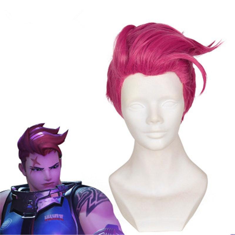 Timecosplay Overwatch OW Zarya Cosplay Wigs