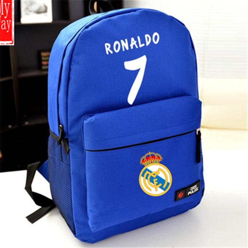 Timecosplay Real Madrid Cristiano Ronaldo 7 School bag Backpack