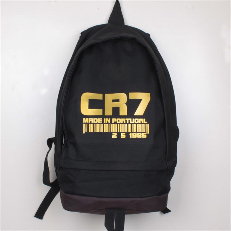 Timecosplay Real Madrid  Ronaldo CR7 School bag Backpack