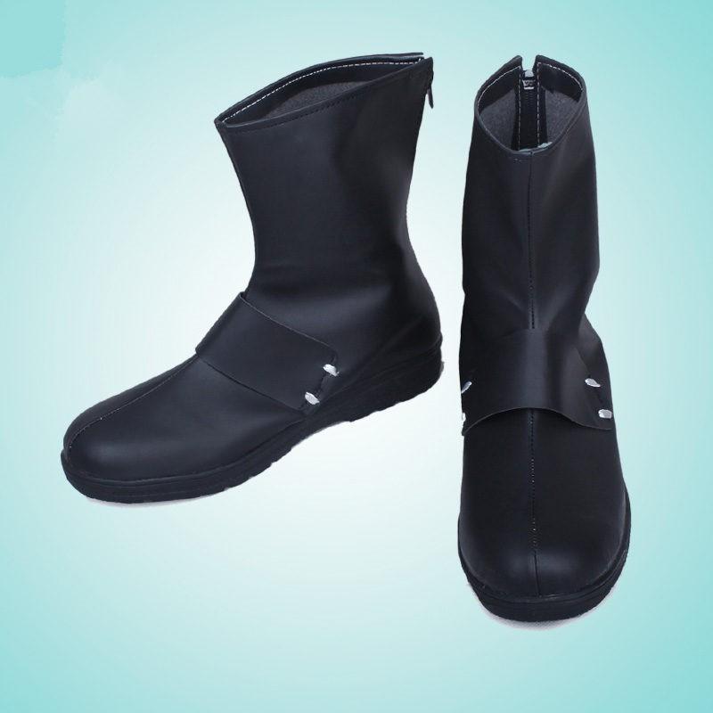 Timecosplay RWBY Qrow Branwen Black Boots Cosplay Shoes