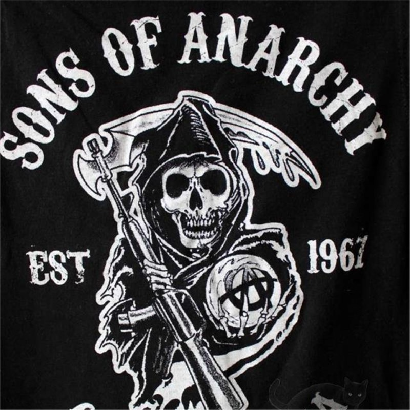Timecosplay Sons Of Anarchy Jax Teller Sleeveless Tee Shirt