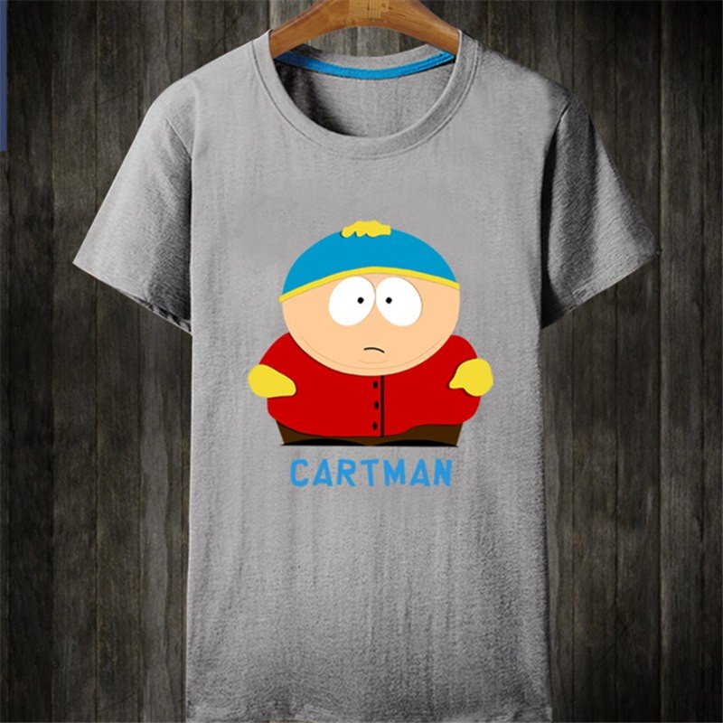 Timecosplay South Park Cartman Short Sleeve Tee Shirts