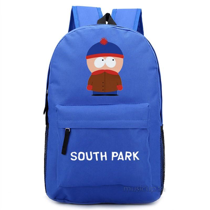 Timecosplay South ParkStan Marsh Shoulders Bag Schoolbag Backpack