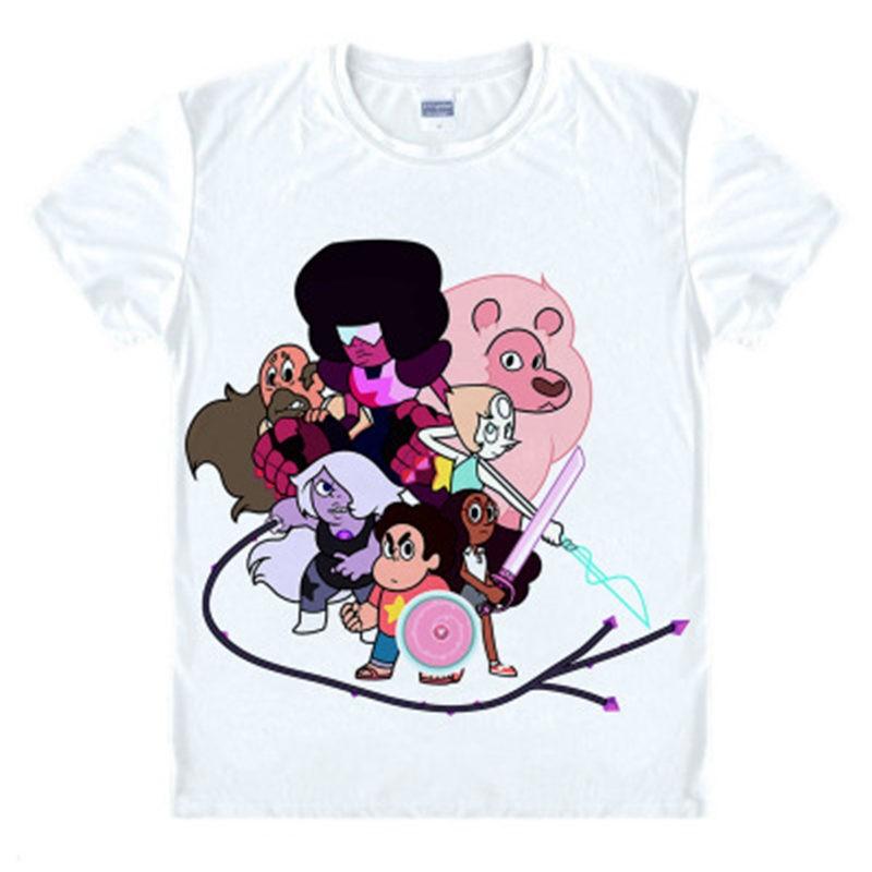 Timecosplay Steven Universe Steven Family T-Shirts