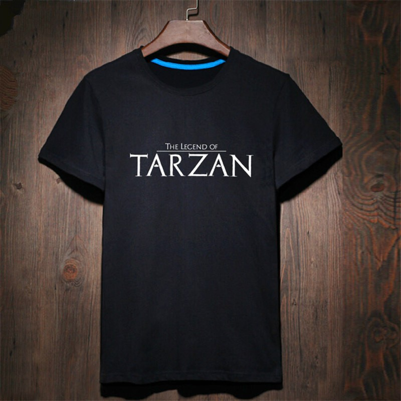 Timecosplay The Legend Of Tarzan Logo Men Tee Shirts