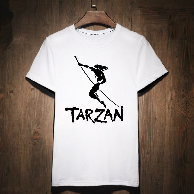 Timecosplay The Legend Of Tarzan Logo Tee Shirts