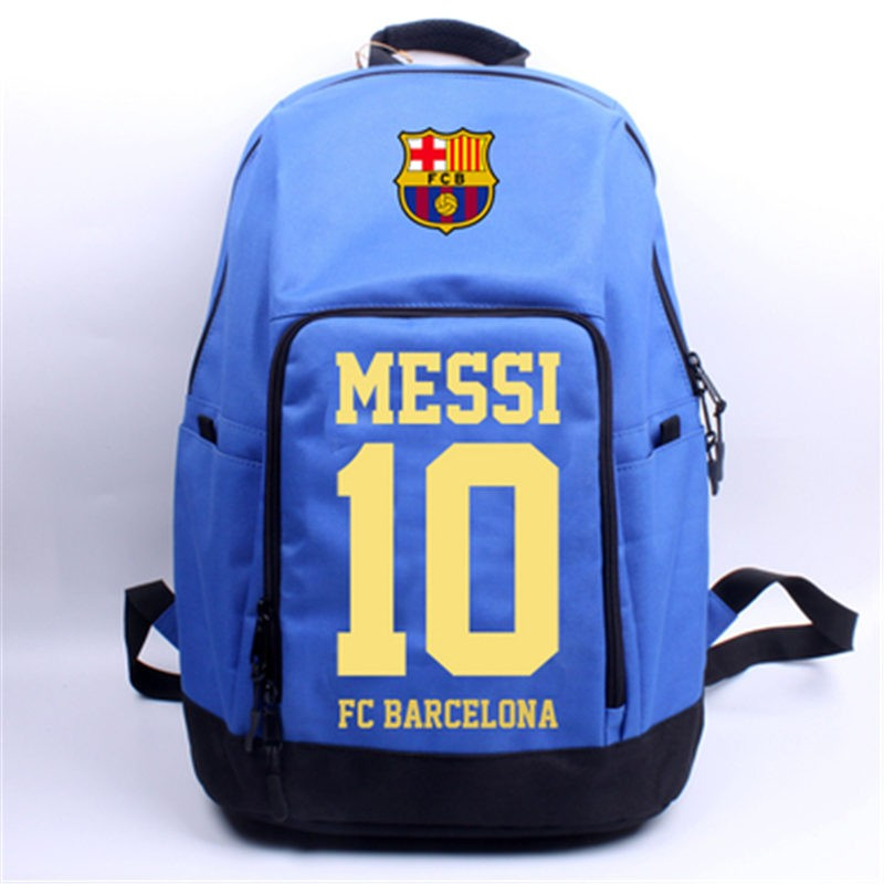 Timecosplay Timecosplay FC Barcelona Messi 10 Travel Shoulder School bag Backpack