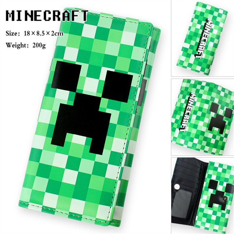Timecosplay Timecosplay Minecraft Creeper Money Clip Wallet