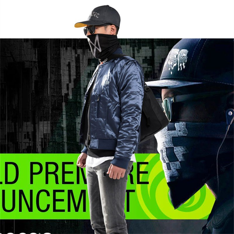 Watch Dogs2 Marcus Jacket Zipper Coat