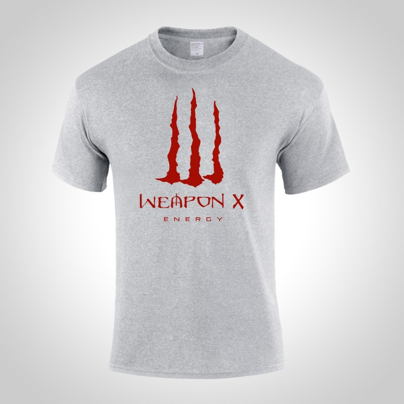 X-Men Apocalypse Wolverine T-shirt  Short Sleeve Tee Shirt