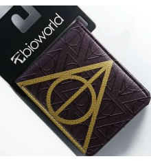 Harry Potter Deathly Hallows Logo wallets
