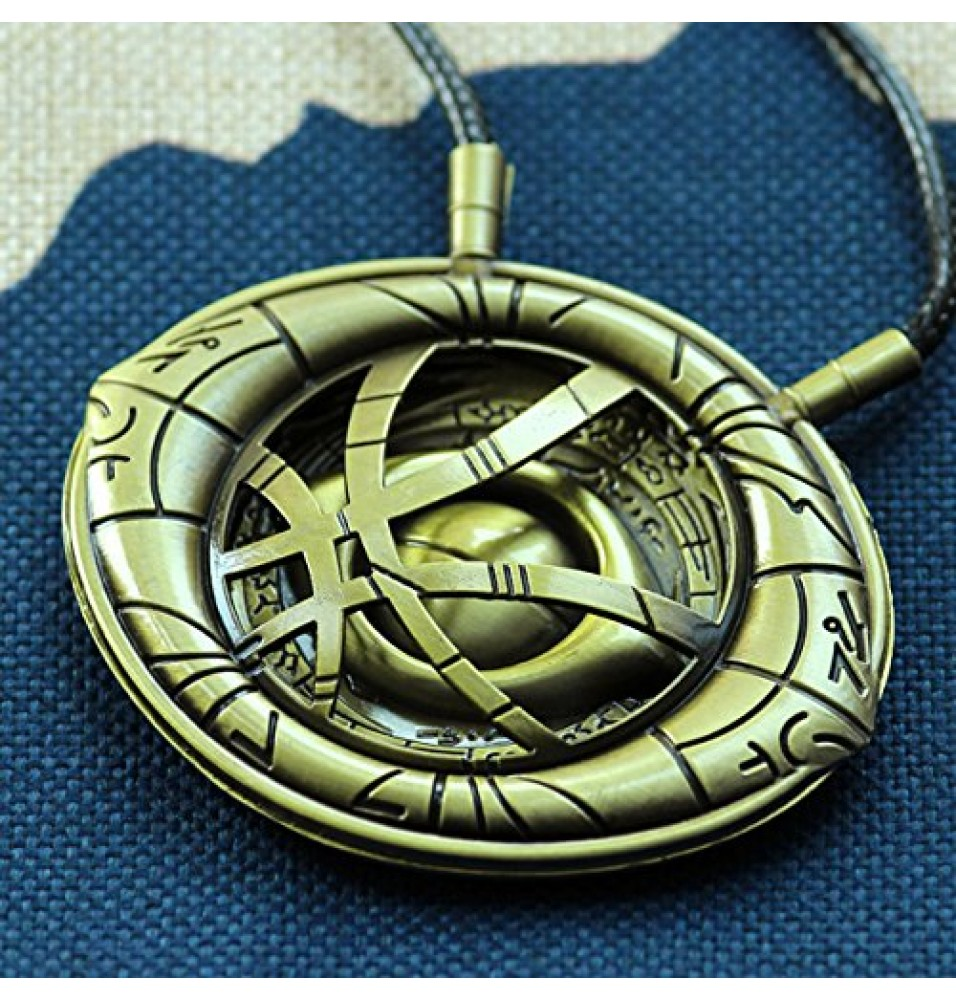 Doctor Strange Eye of Agamotto Necklace Cosplay Props Large Size