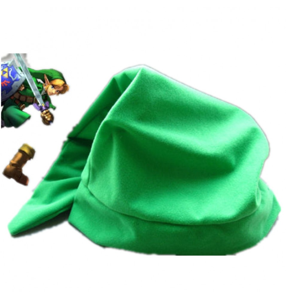 Timecosplay Legend of Zelda Link Green Hat Cap Cosplay