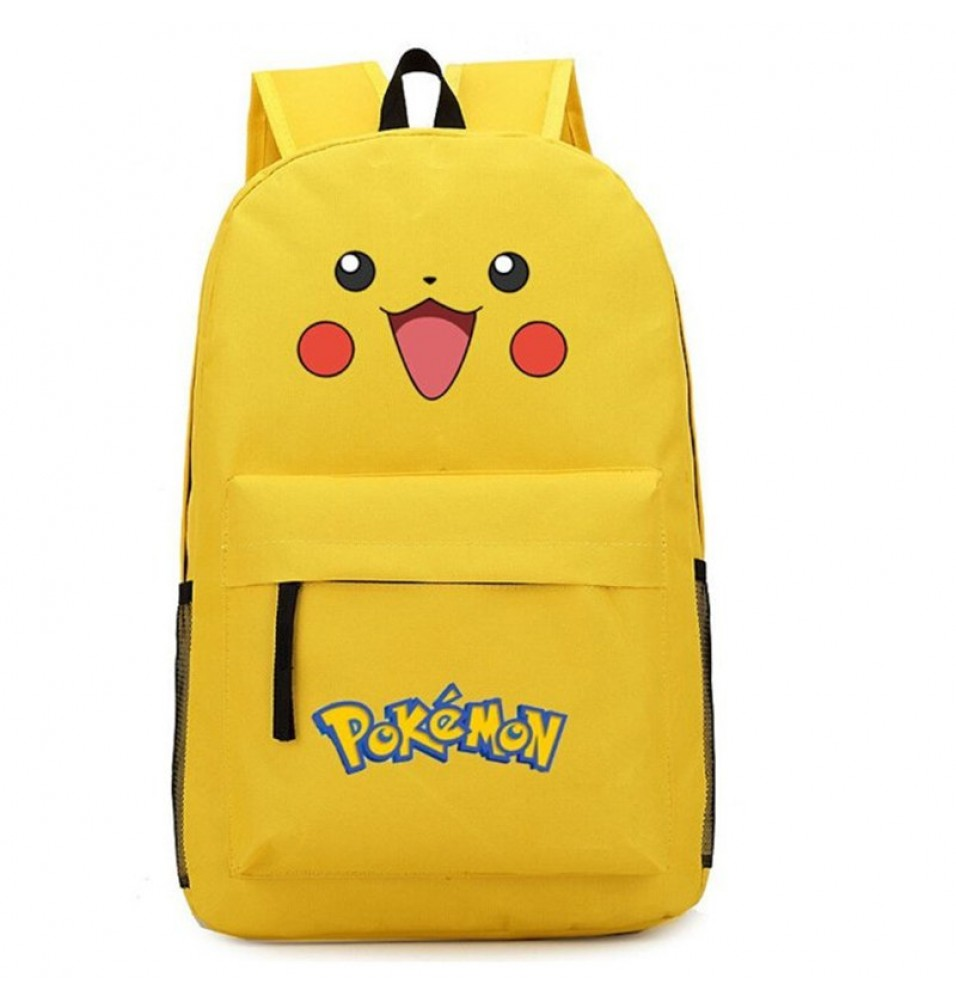 Timecosplay Anime Pokemon Pikachu Backpack Cosplay School Bag