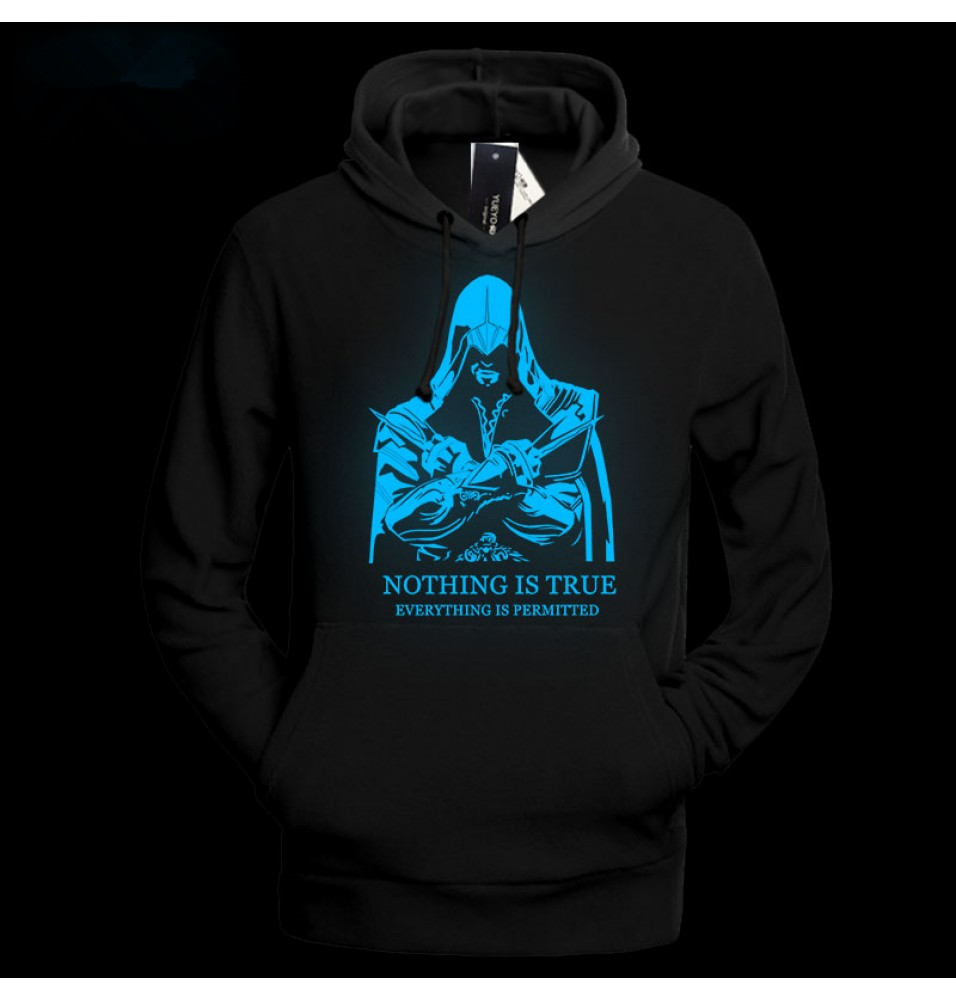 Assassin's Creed Fashion Luminous Hoodies
