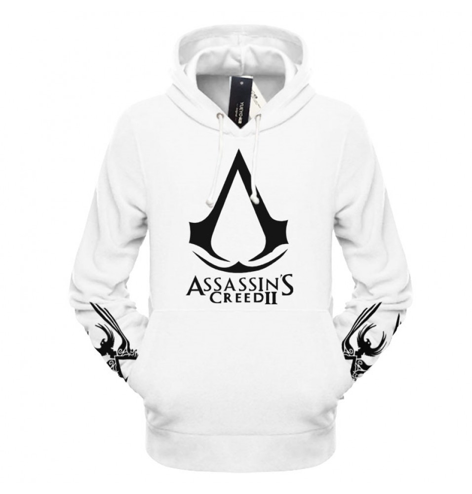 Assassin's Creed II Logo Hoodies