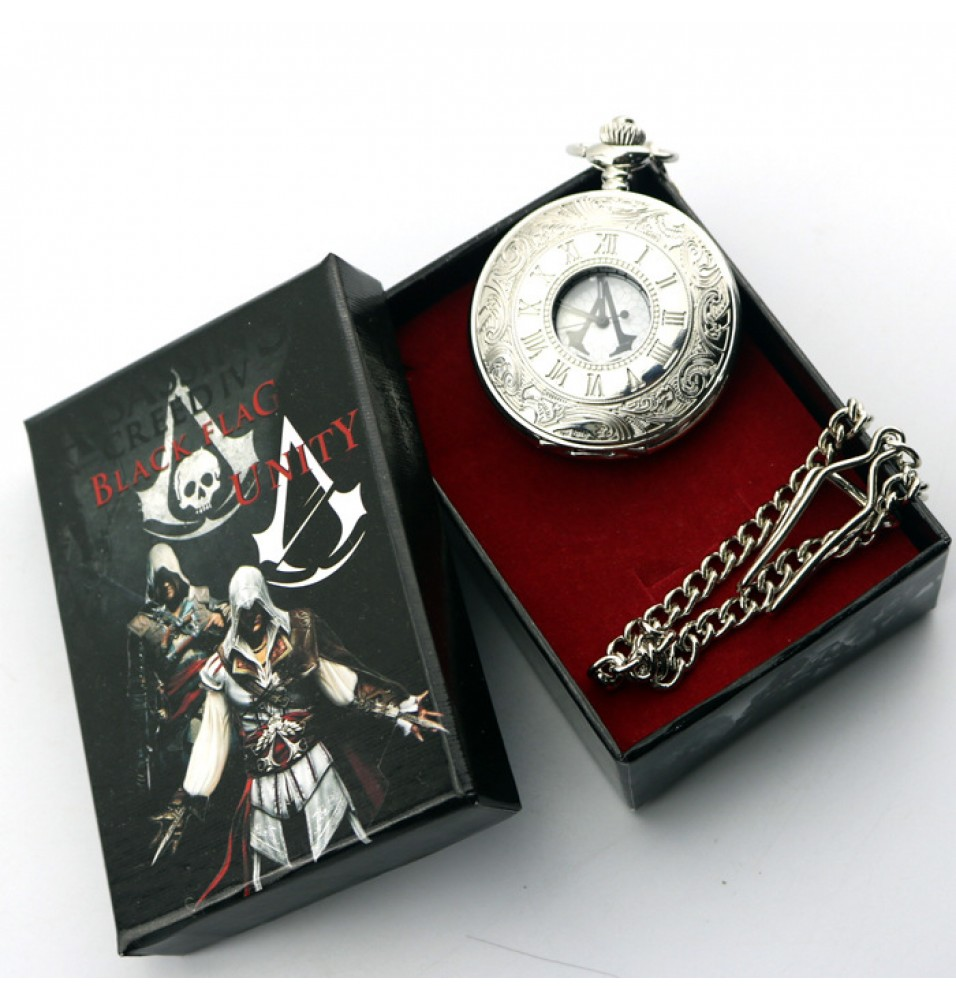 Assassin's Creed Wristwatch Pocket Watch