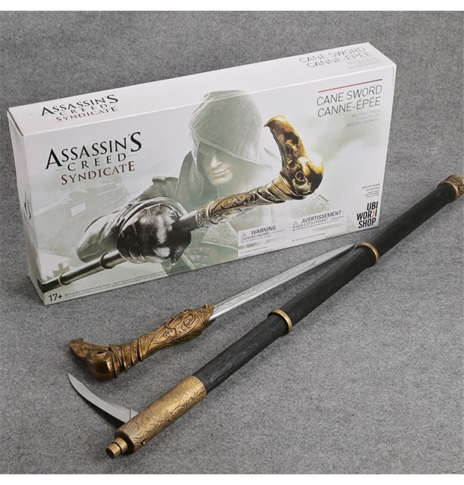 Assassin's Creed 6 Syndicate Cane Sword Cosplay Prop