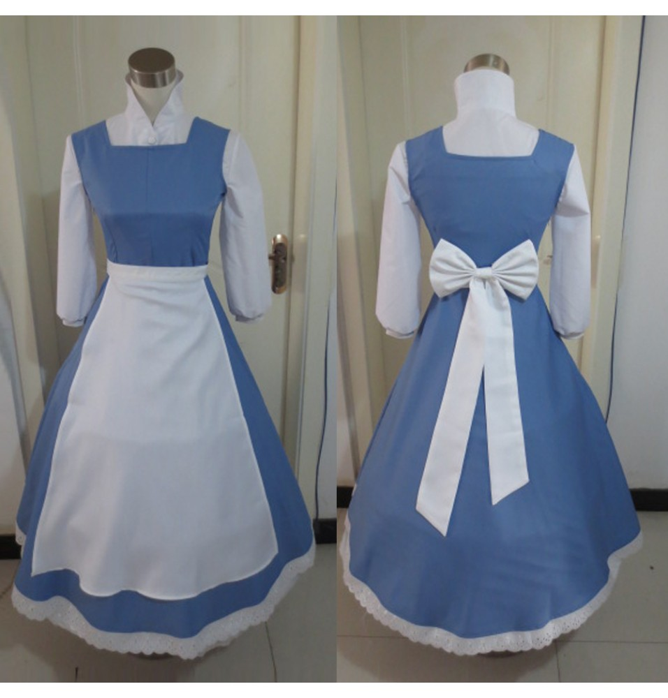 Beauty And The Beast Princess Belle Dresses Cosplay Costumes