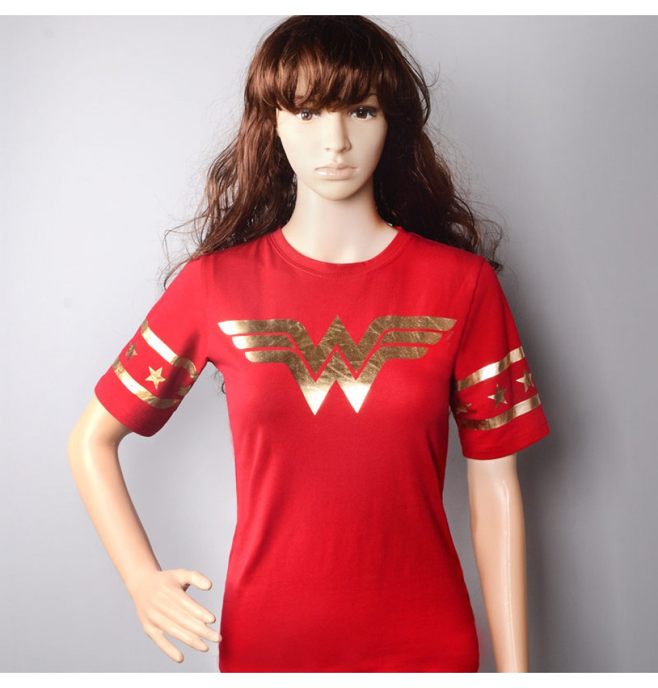 DC Diana Prince  Wonder Woman Cosplay Women T-Shirt
