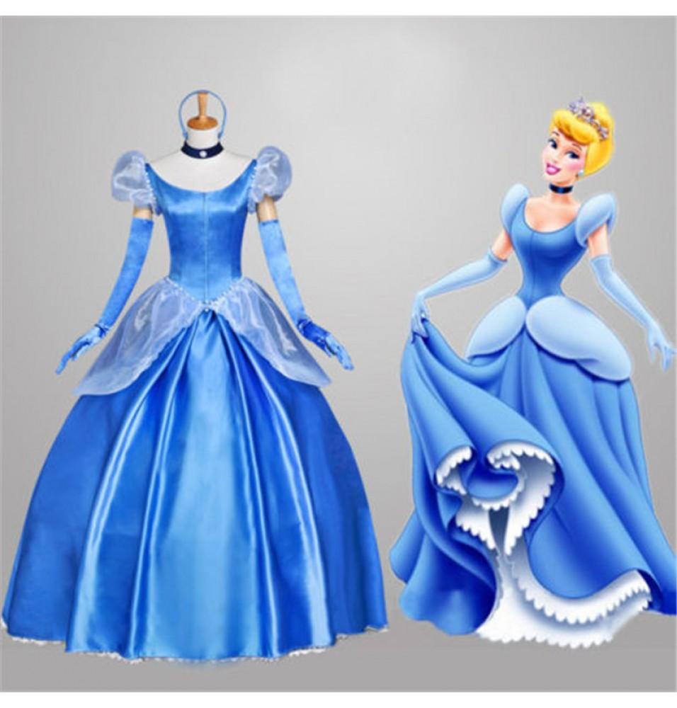 buy cinderella cosplay costumes adult cinderella