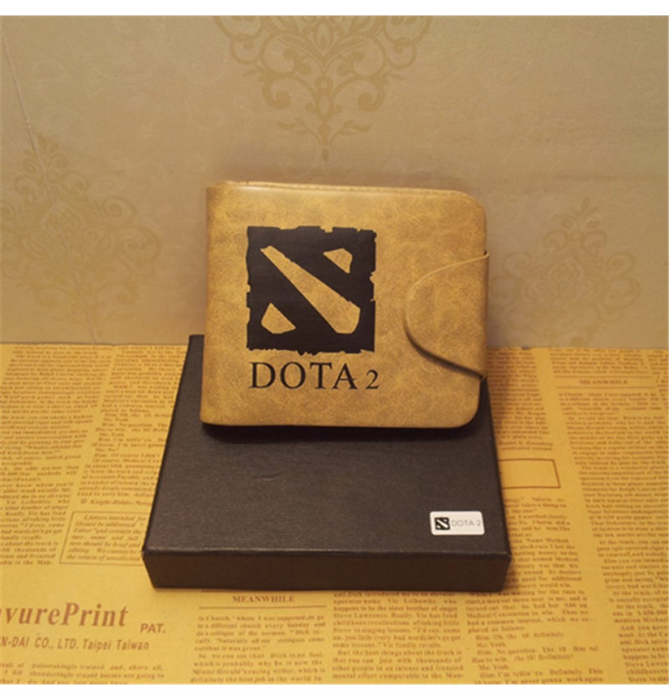 Dota2 Cosplay Logo Money Clip Broen Wallet