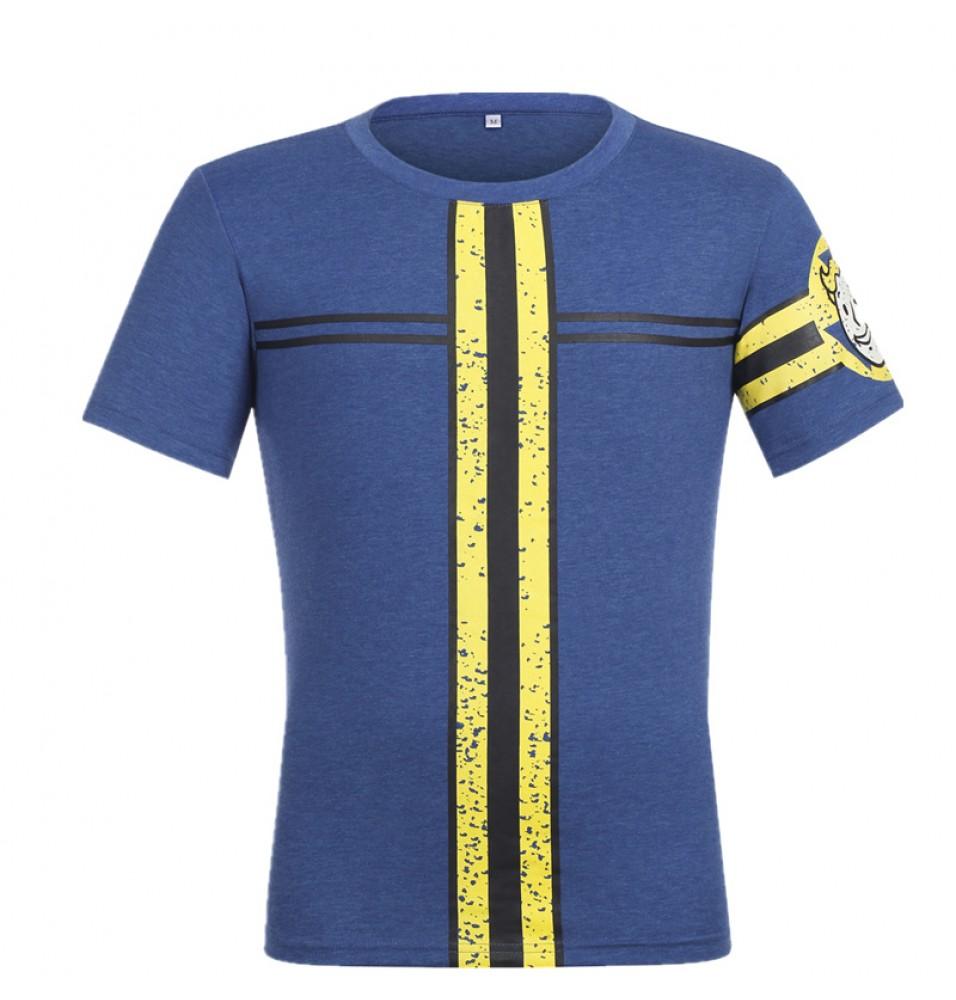Fallout 4 Vault 111 Logo Cosplay T-Shirt Tees